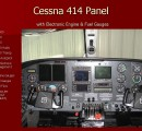 Cessna 414 Panel Installation