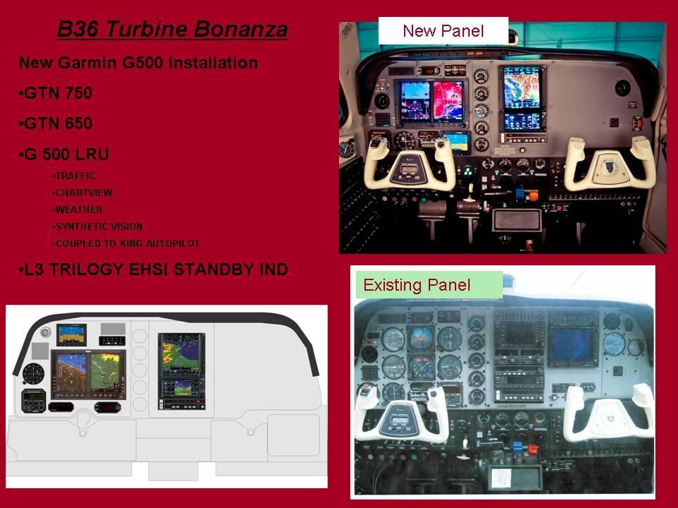 B36 Turbine Bonanza Installation