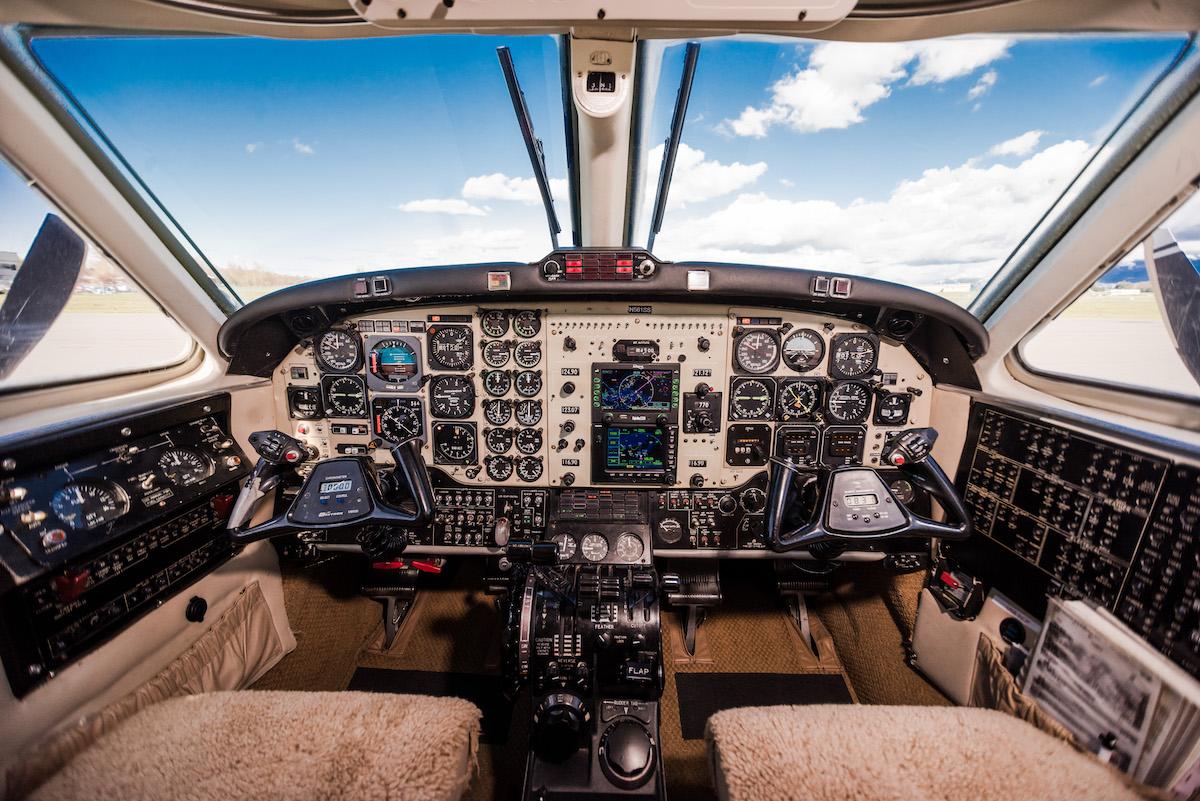 561SS Cockpit